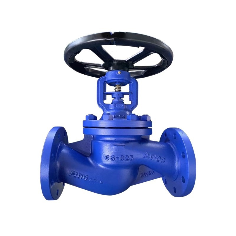 Bellow Seal Globe Valve Cast Steel PN25