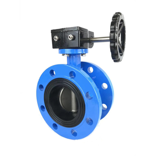 Flange Butterfly Valve Concentric Cast Iron Soft Seat