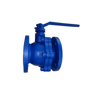 DIN Flange Cast Iron Float PN16 Ball Valve
