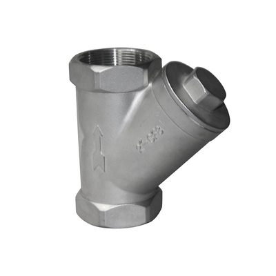 Y Strainer Stainless Steel BSPT Threaded