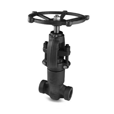 Forged Steel Globe Valve 1500lb A105 Self Sealing