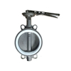 Wafer Butterfly Valve Stainless Steel PN16 PTFE Seat