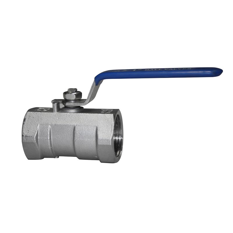 Thread Ball Valve 1PC Stainless Steel 1000WOG
