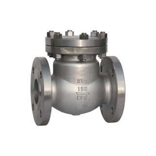 Swing Check Valve API Stainless Steel CF8 150LB