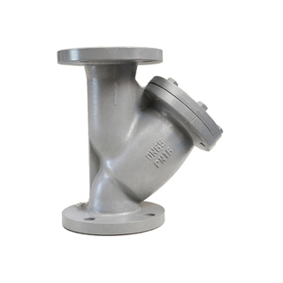 BS4504 Cast Iron PN16 Flange Type Y Strainer