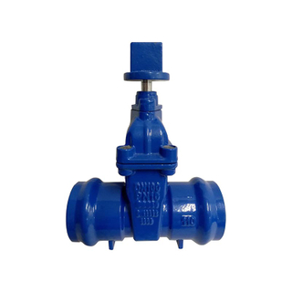 Iron PN16 Socket End Resilient Seat Gate Valve